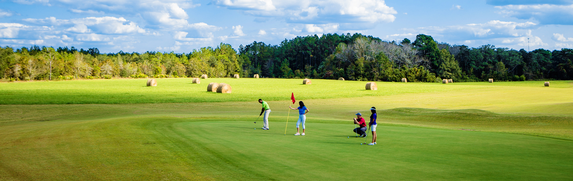Golfing at Gordonia-Alatamaha