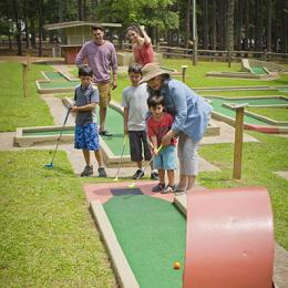 Mini Golf at Hard Labor Creek