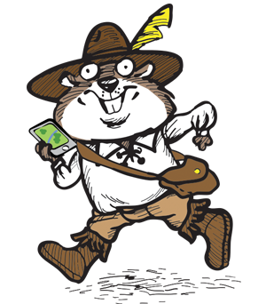 History Geocaching Gopher