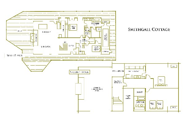 Smithgall Cottage Floor Plan