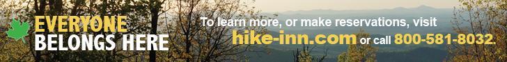 Hike Inn at Amicalola Falls