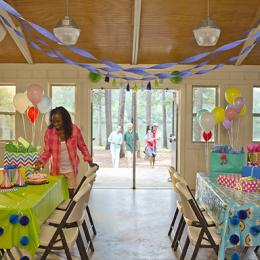 Birthday Party at Indian Springs