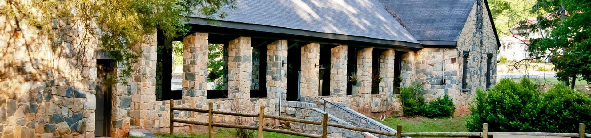 Indian Springs Stone Pavilion
