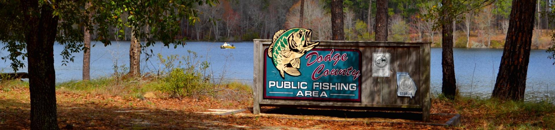 sign at Dodge County PFA