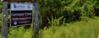Germany Creek Sign
