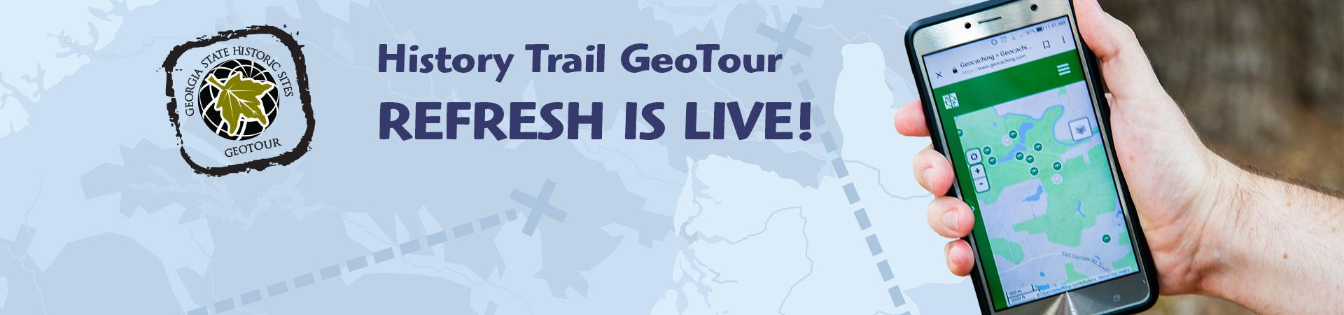 History Trail GeoTour Is Live