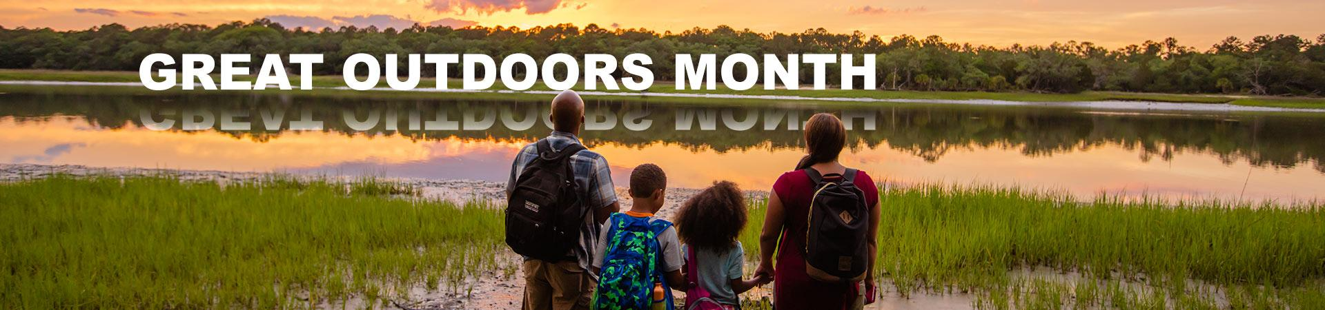 Great Outdoors Month Activities