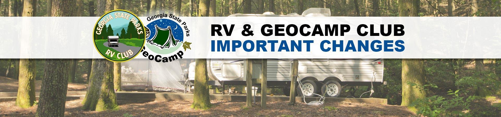 RV and GeoCamp clubs retiring