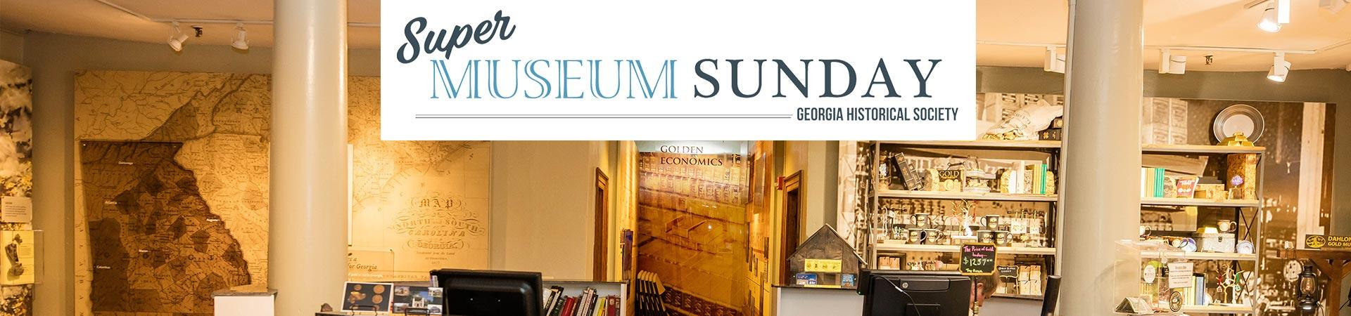 Super Museum Sunday Events