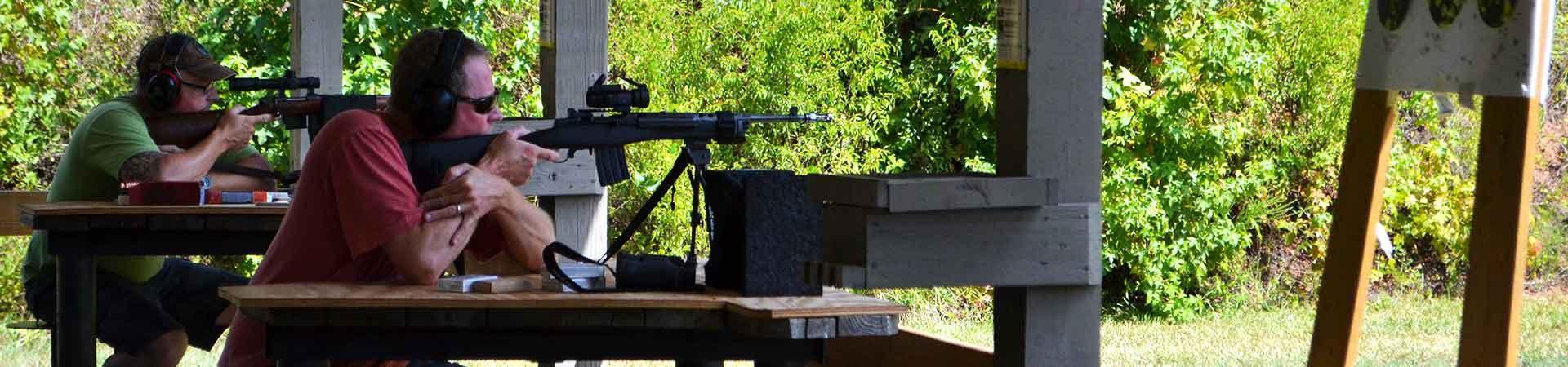 Shooting Range Bench
