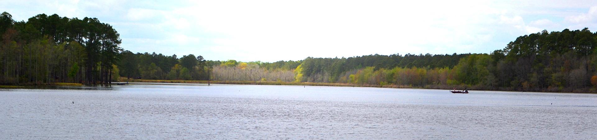 lake at Evans County PFA