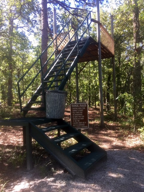 tower at archery range